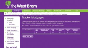 west brom tracker mortgage
