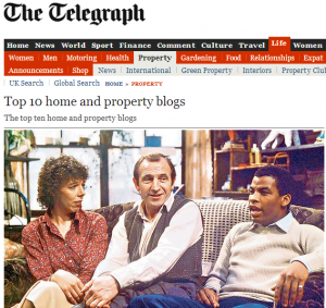 telegraph best property blogs