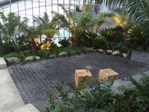 park in walkie talkie