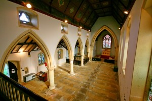 corby glen chapel inside