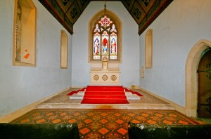 corby glen chapel inside1
