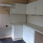 Kitchen in Welsh auction property
