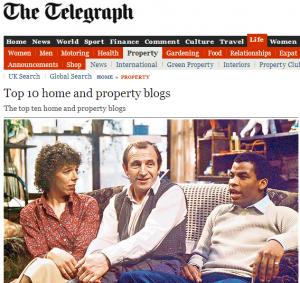 telegraph best property blogs