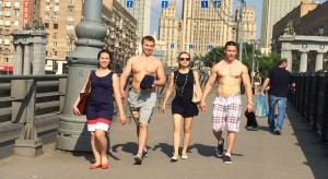 moscow is hot